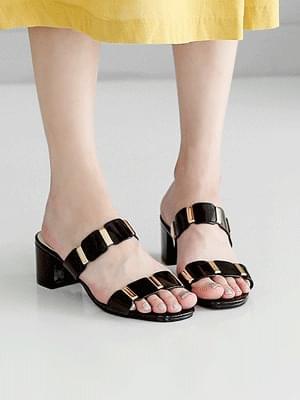 Gentz Mules Slippers 5cm