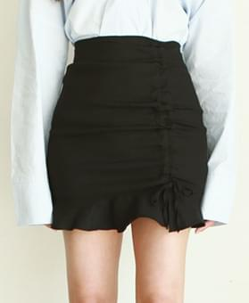 Eliness Shearing Mini Skirt