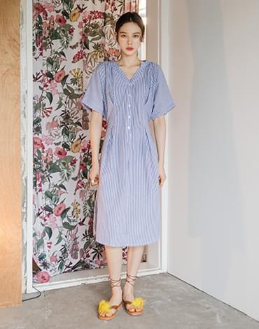 Sophie V Neck Dress