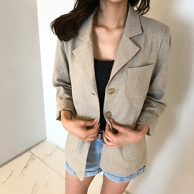 Aaron linen jacket