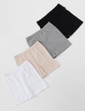 Skin cotton inner shorts_H (size : free)