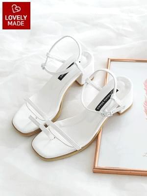hello strap sandals 5cm