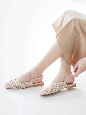 Cello Ratan Sling Bag Flat Shoes 1.5cm