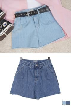 Puff Caffeine Denim Short P