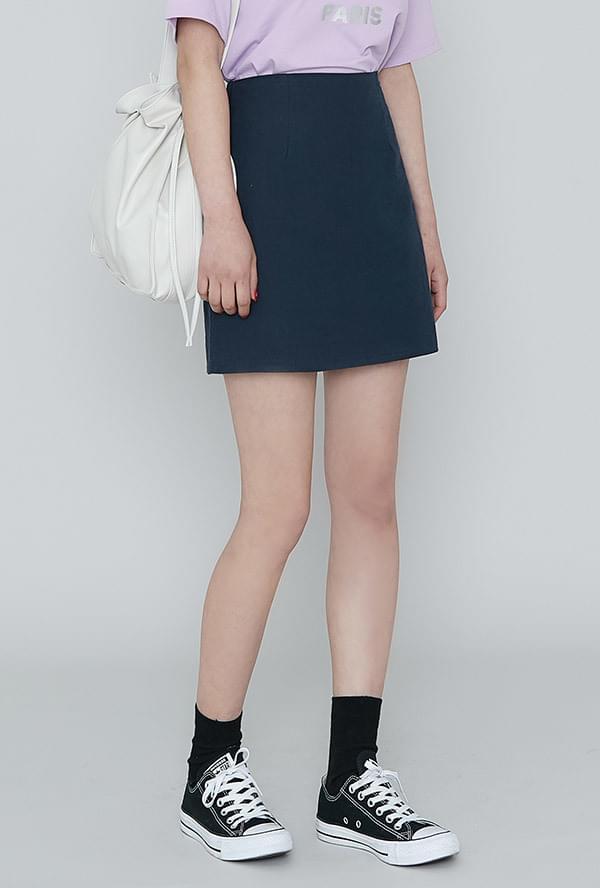 Momo Linen Skirt