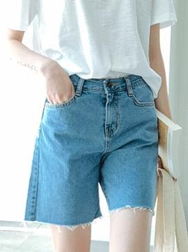 Cutting Newton Denim Shorts