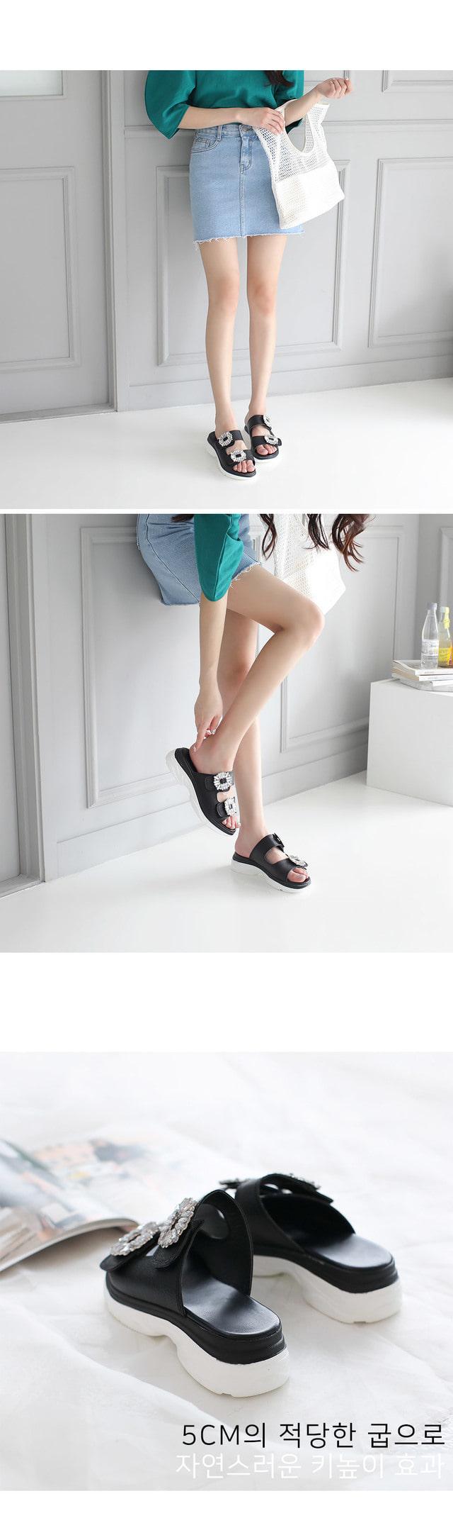 Melz Velcro Slippers 5cm