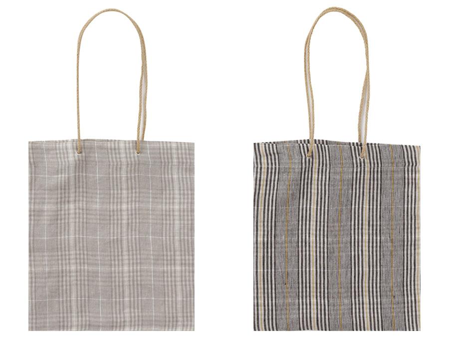 Check rope natural bag_H (size : one)