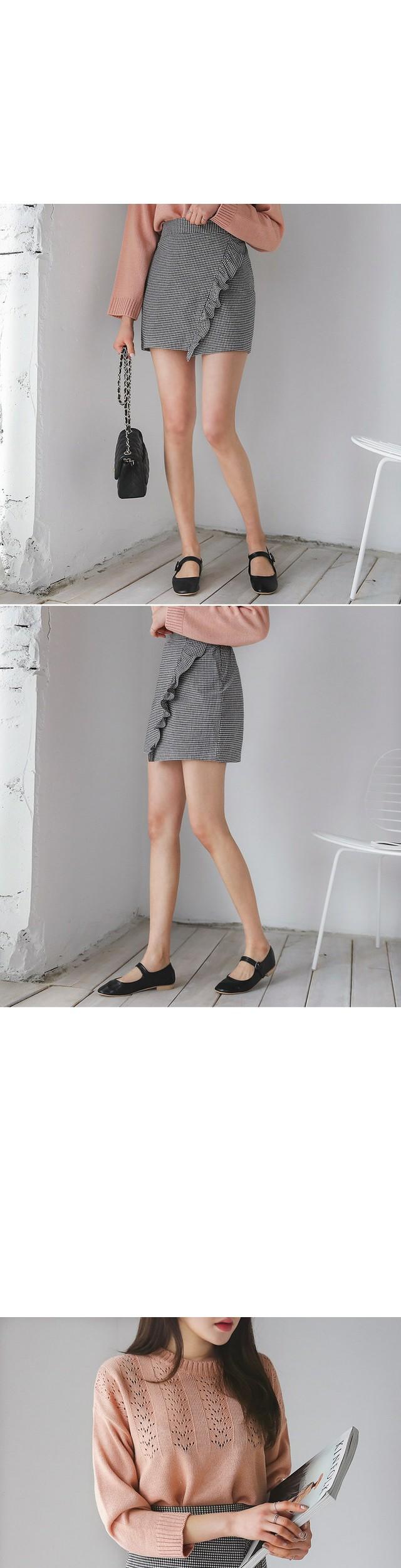Checkmal skirt