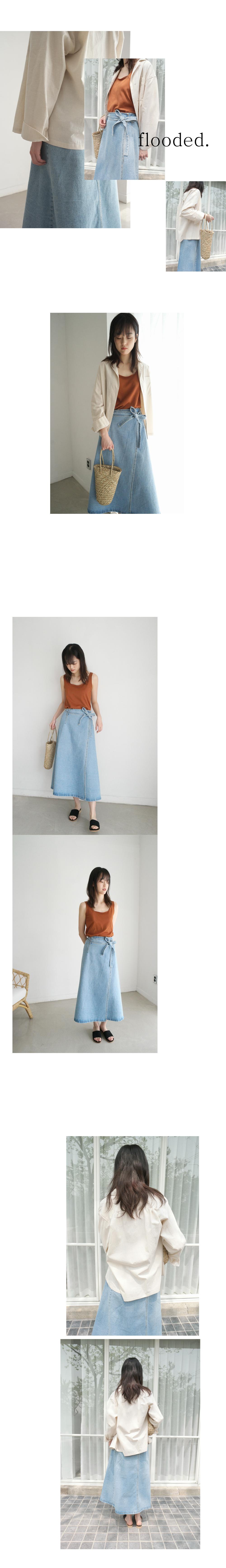 boxy cotton shirt (2colors)