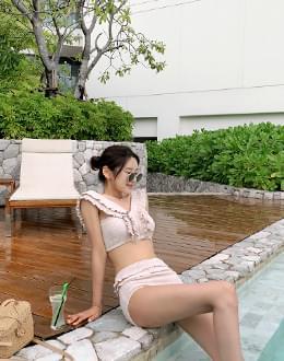 Angel frills bikini (* 2color)