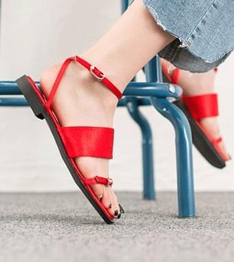 Petit Pearl Strap Sandals (2color)
