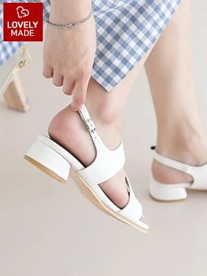 Zetten Slingback Sandals 3cm