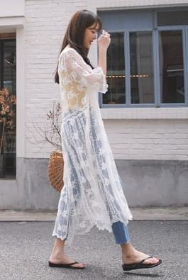 Beach Lace Robe