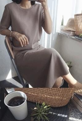 restock!! Mesh knit skirt set