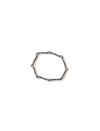 black bar chain ring