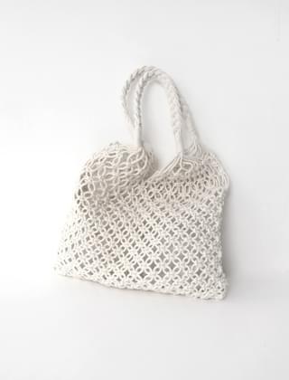 open weave net bag