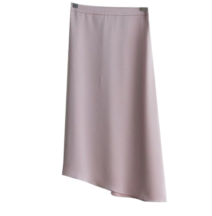 Silky undress skirt