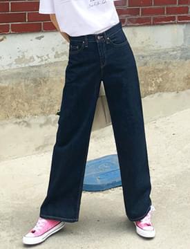 Boy blue denim wide pants_M (size : S,M,L)