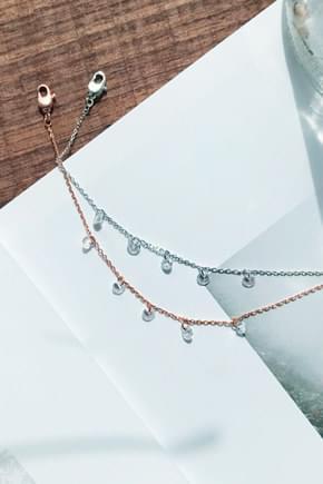 Rose Cubic Bracelet
