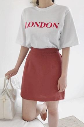 London lettering t-shirt