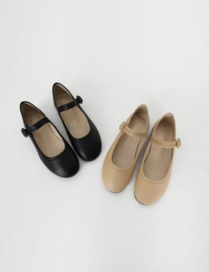 (Fitting Sale) Strap Jane Flat