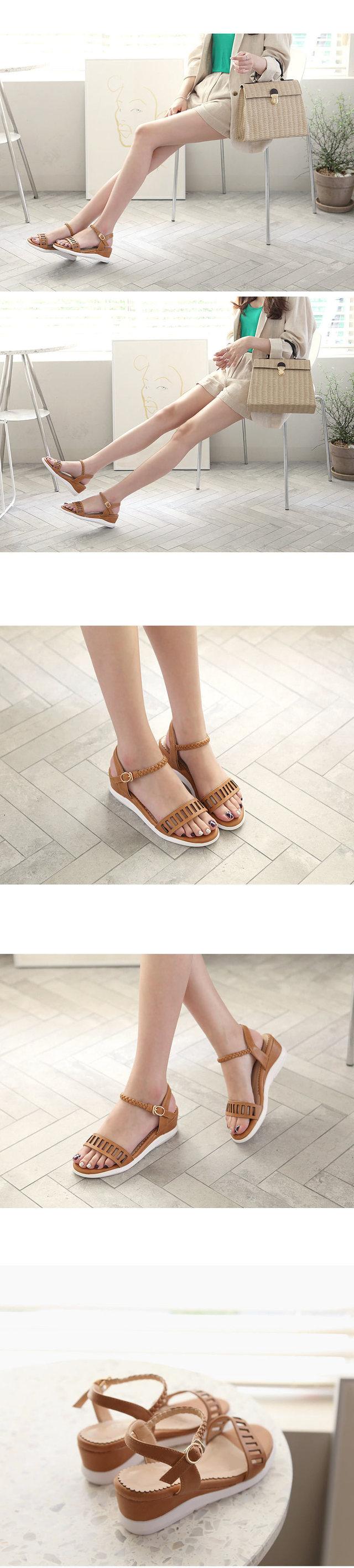 Hillson wedge sandals 5cm