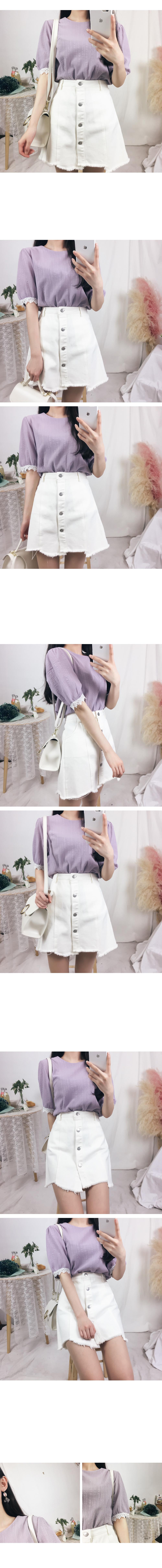 Rain puff blouse (bl501)