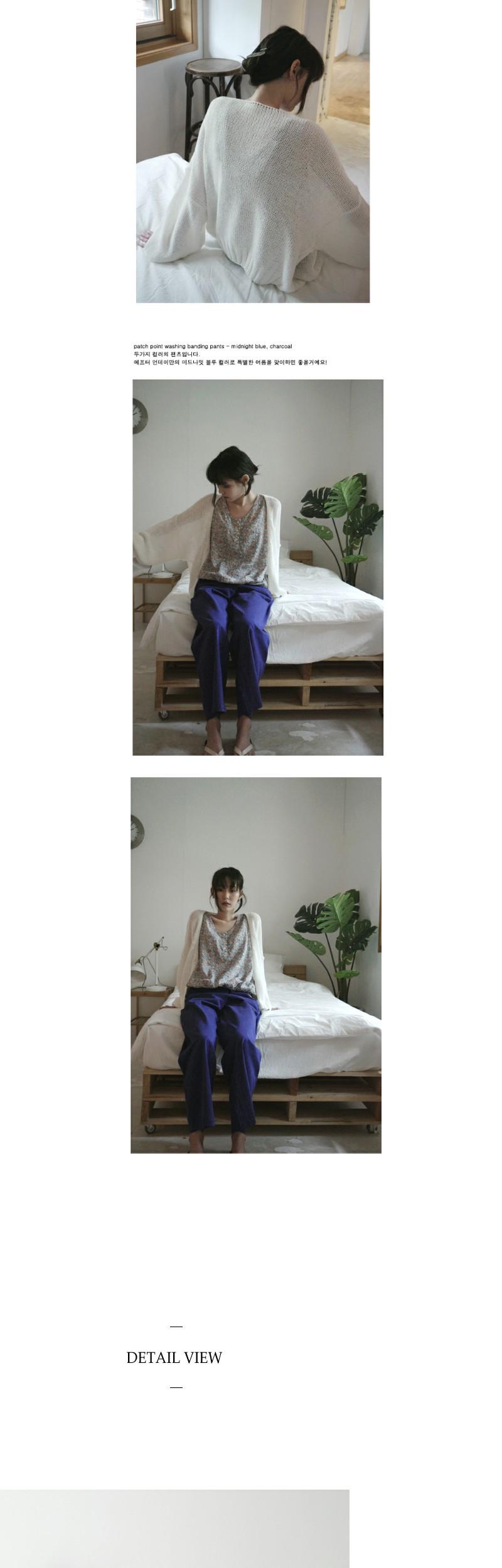 balloon sleeve summer cardigan (3colors)