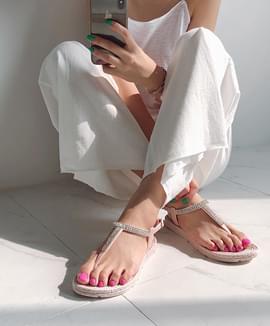 Rain or sunshine daily sandals 2type ♡ 1.5cm