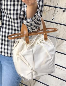 Someday pvc bag_S (size : one)
