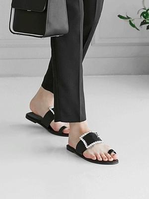 Tessa bling slippers 1cm