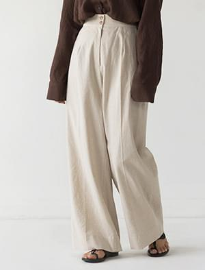 maxi high-waist wide pants
