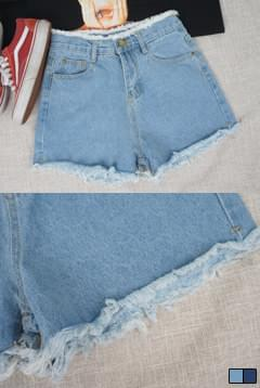 Summer Snow Denim Shorts P