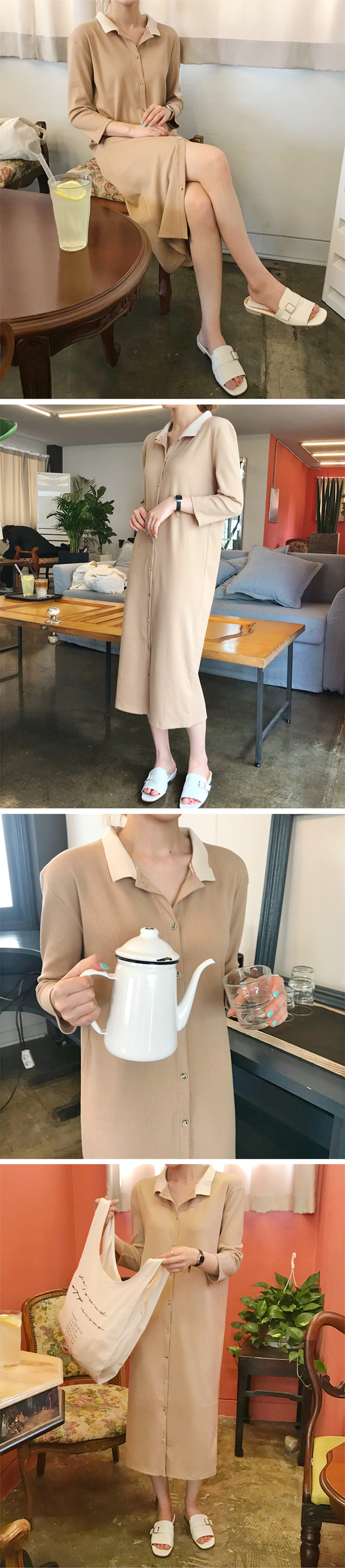 Charming collar button ops_H (size : free)