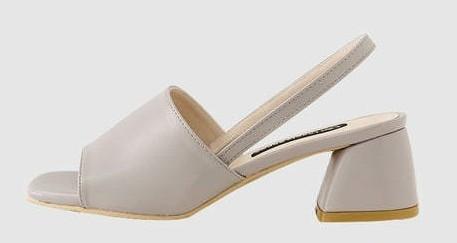 Nail Sling Back Sandals 6cm