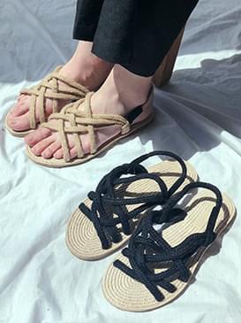 Hidin Ratan Sandals