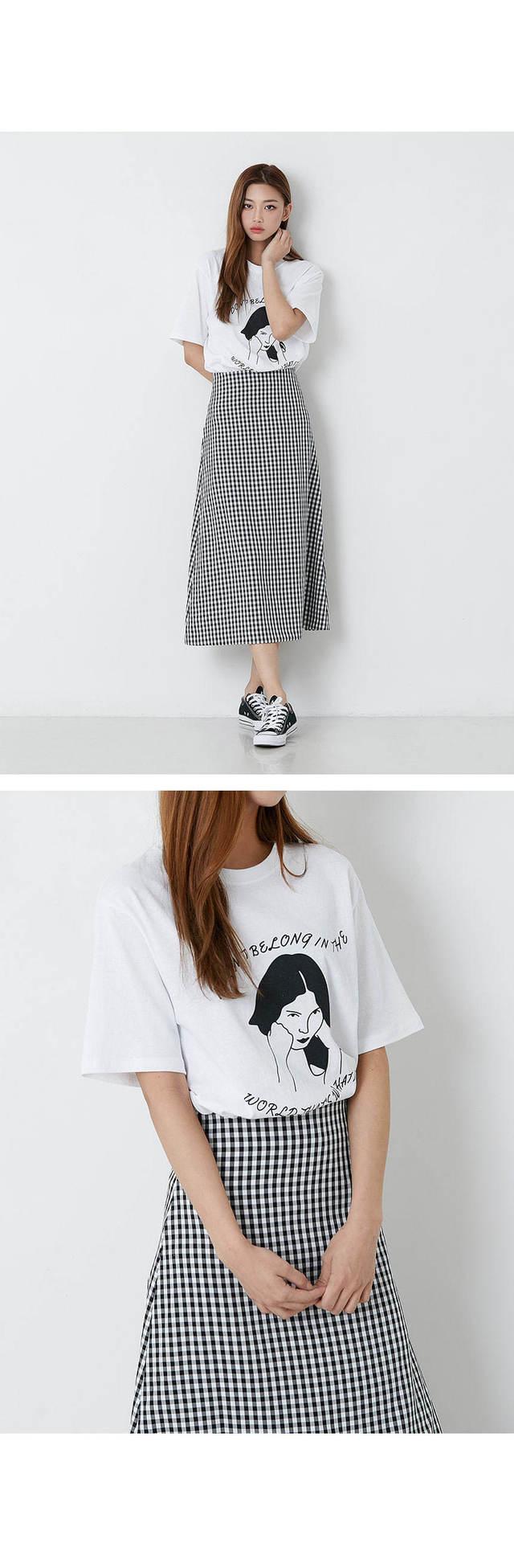Girl And Tees