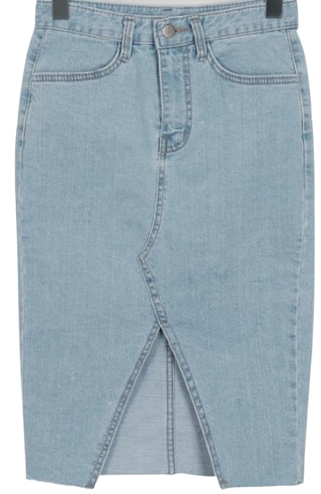 Mode slim denim skirt_H (size : S,M,L)