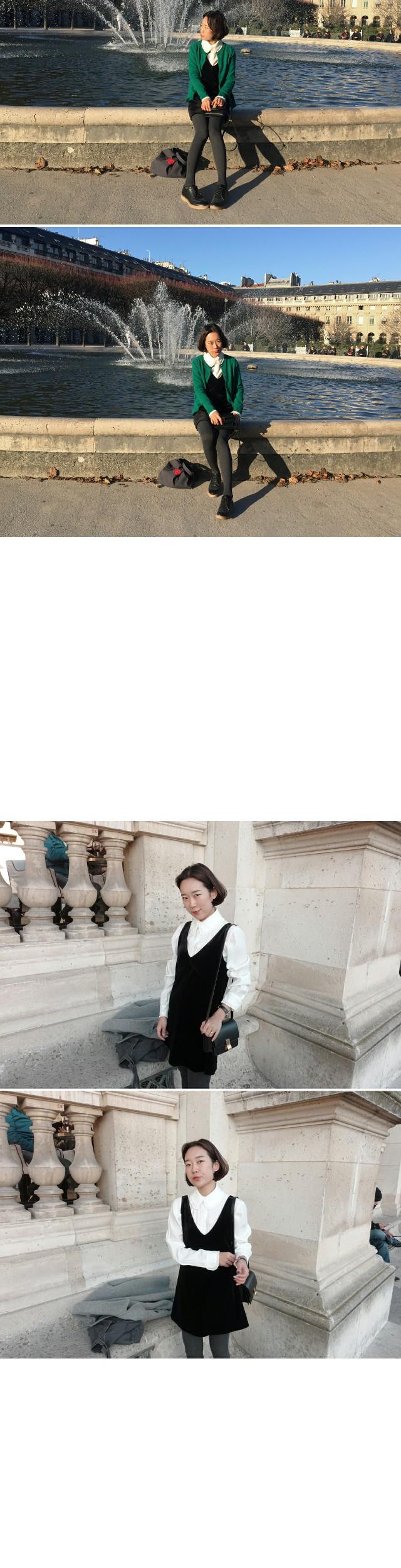 Parisien.LAKE-Velvet Dress