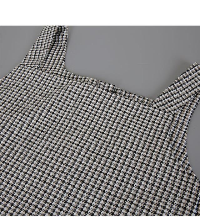 Bonbon-Check Dress