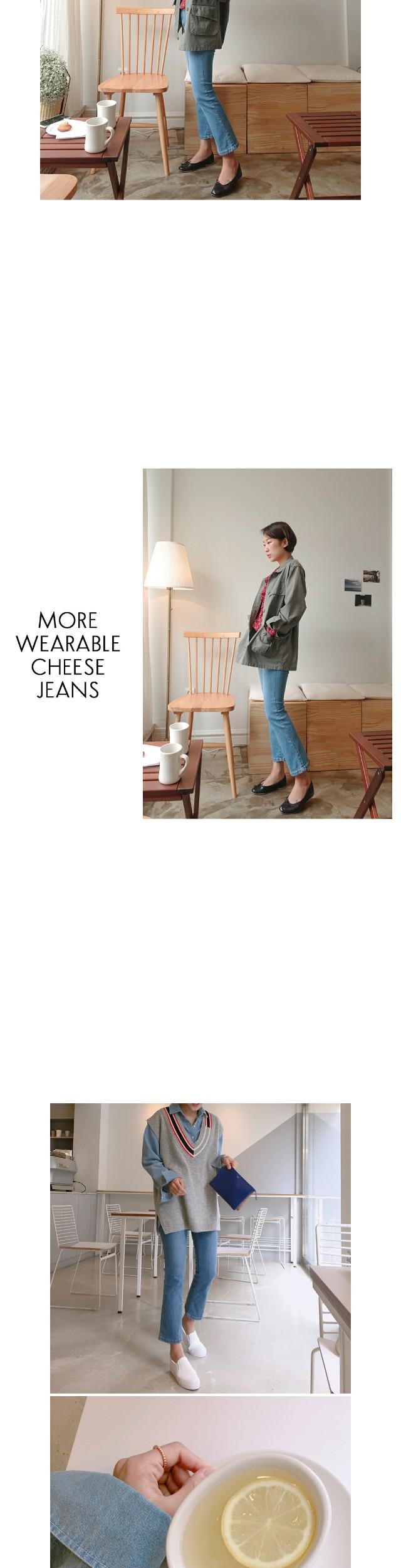 Cheese Skinny (ver. Crop Boot Cut)