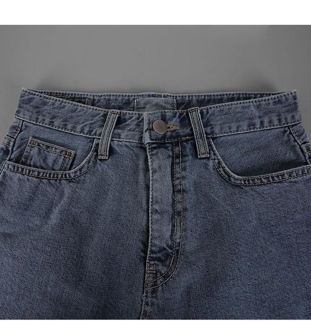 Greyish-denim skirt