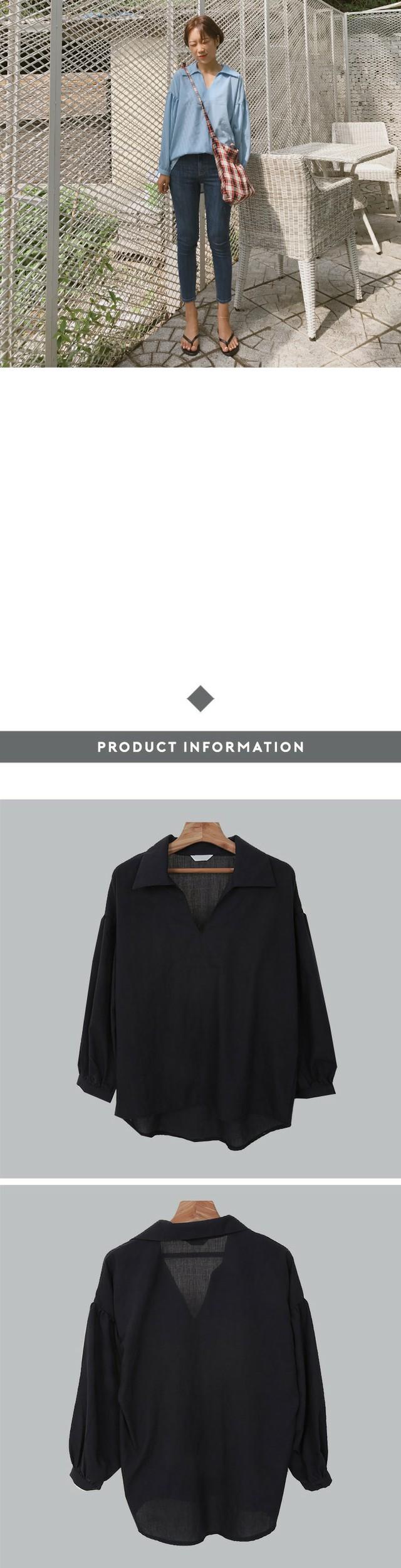 Windy-blouse