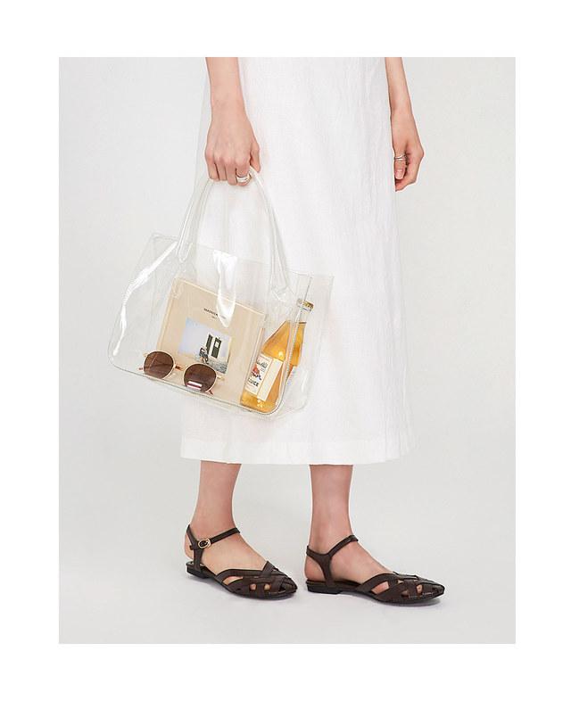 modern slit linen long skirt
