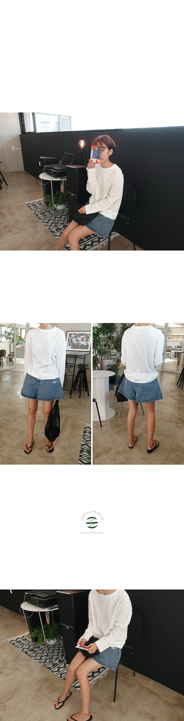 Roomy-wide shorts
