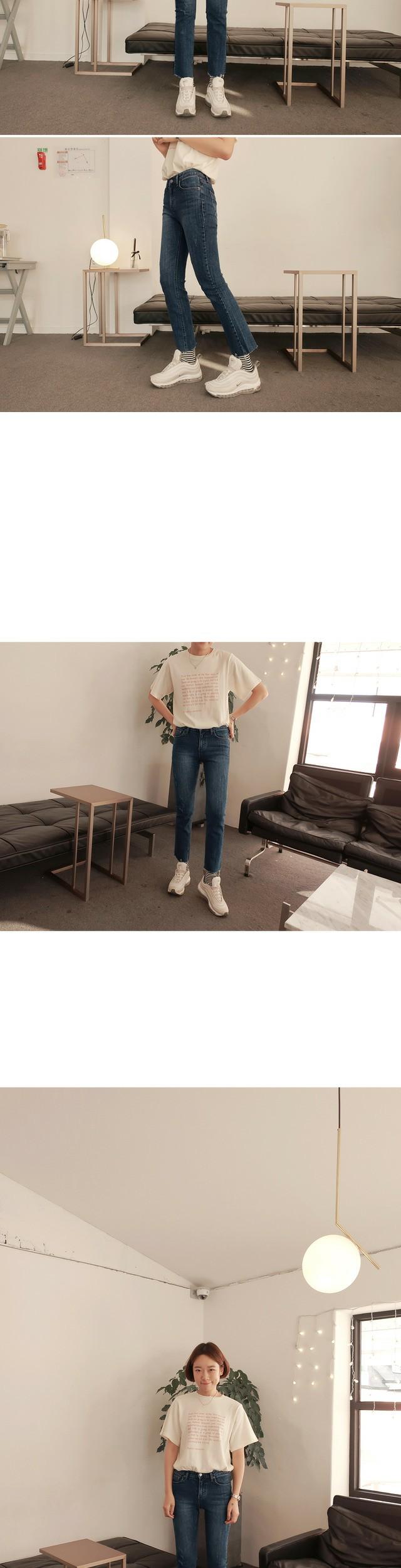 Sam-date cut pants [size: S, M, L / 1color]