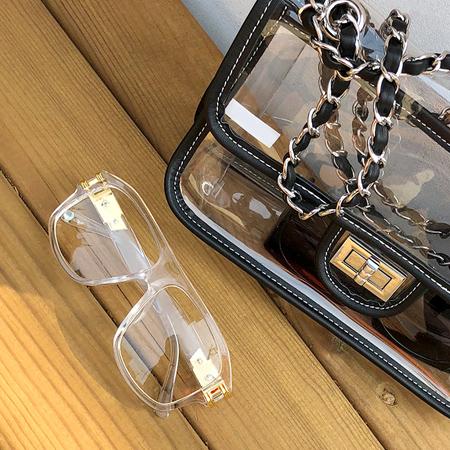 Caleb Transparent Glasses