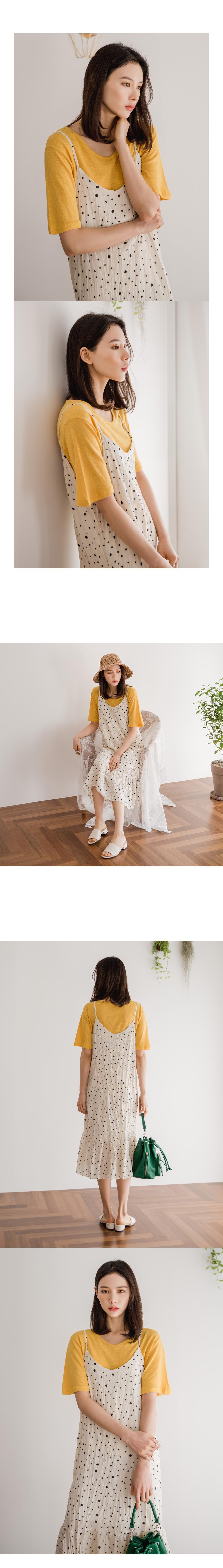 Soft linen yarn