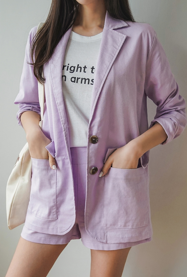 Special linen jacket